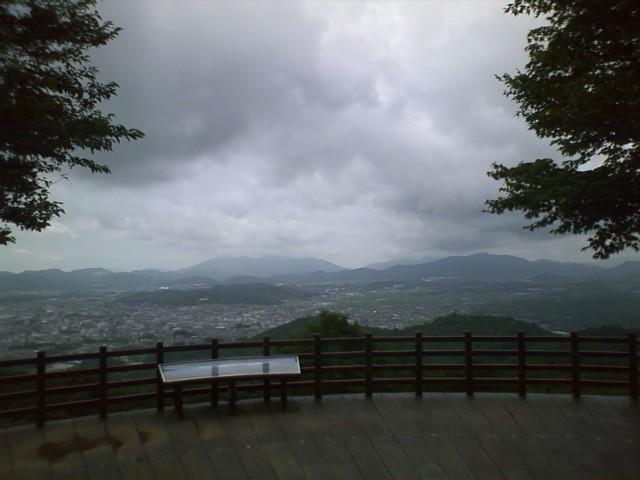 地元西条龍王山登頂